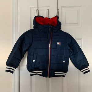 Tommy Hilfiger Little Boys hooded puffer Jacket